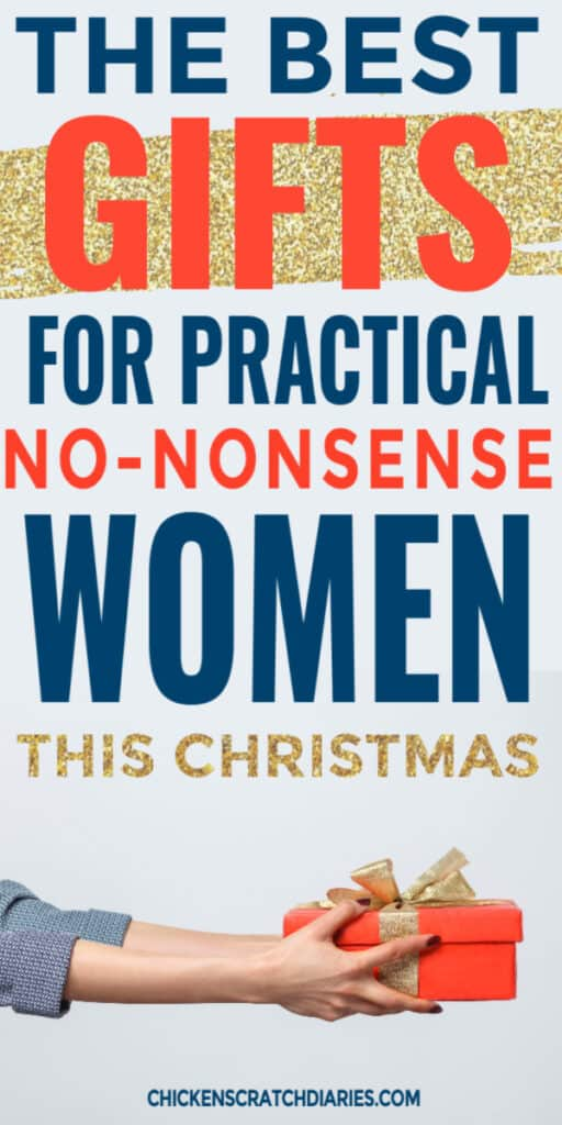 practical gifts for no-nonsense women