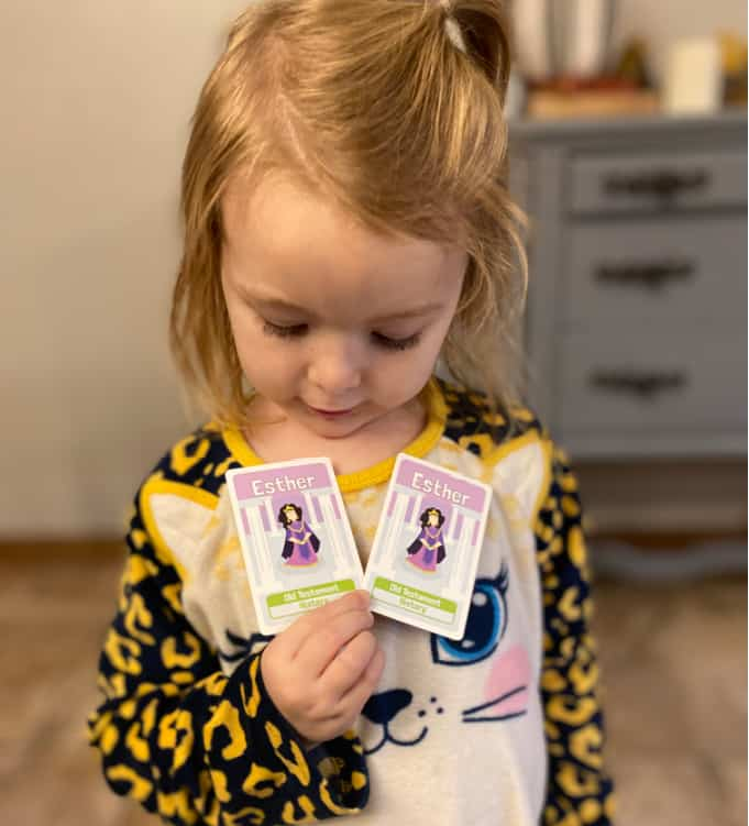 Connecting with kids through playing Bible games
