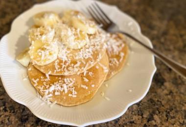gluten-free oat pancakes