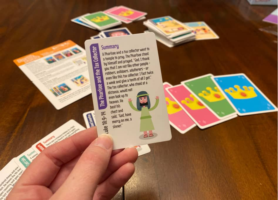 Bible parables-game for kids