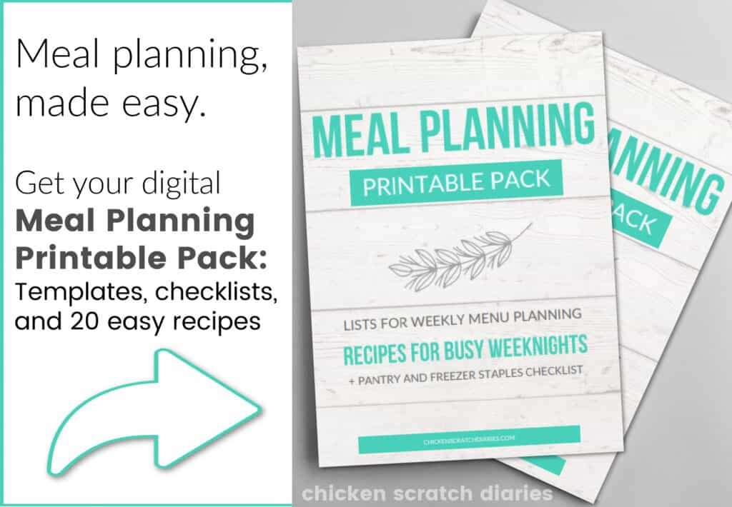 meal planning download