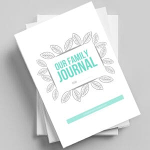 Our Family Journal-Digital Download