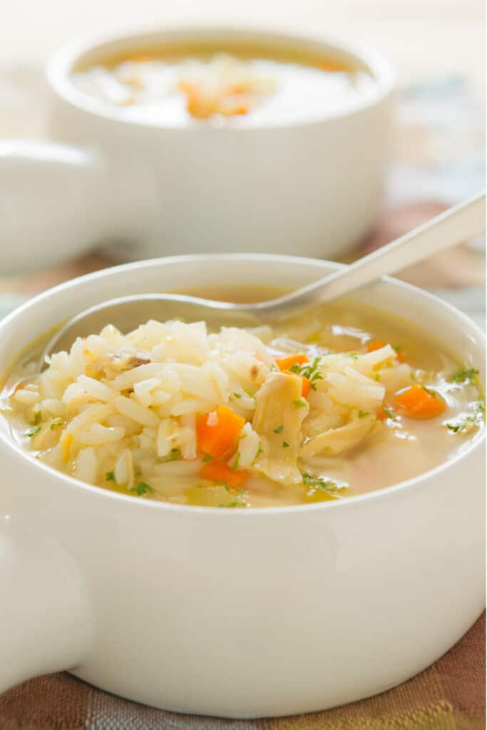 recipe for turkey and rice soup