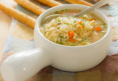 turkey soup recipe image