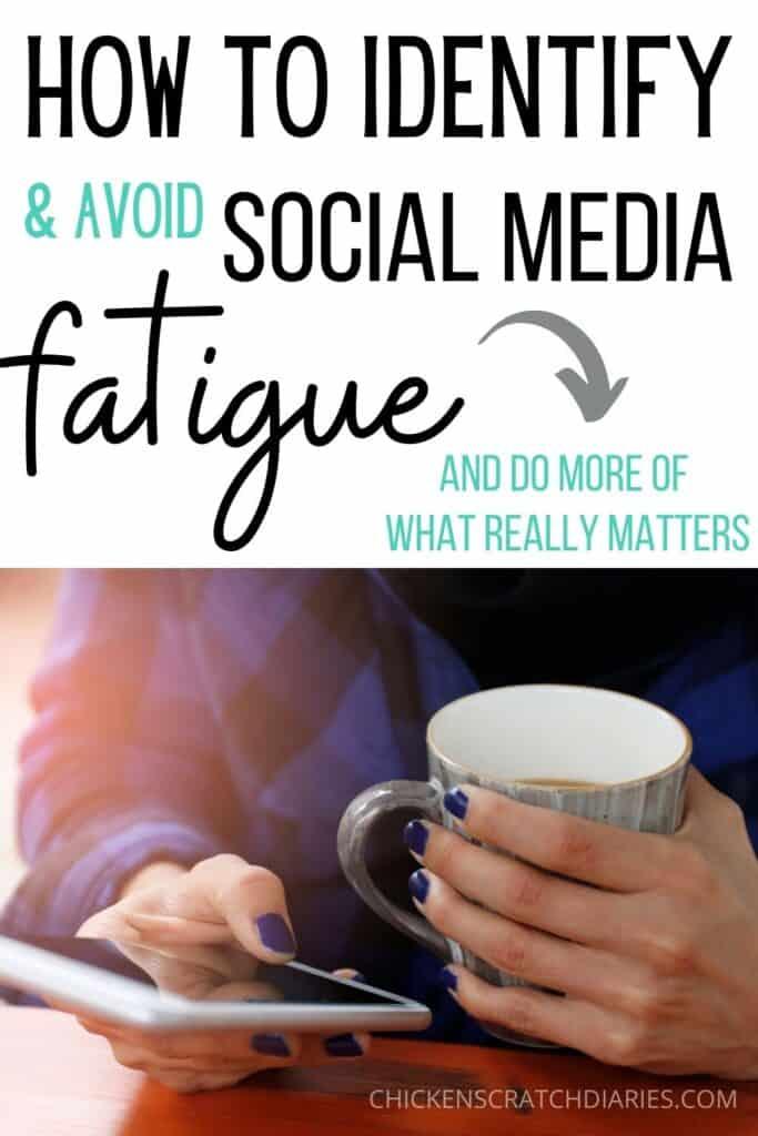 avoiding social media fatigue