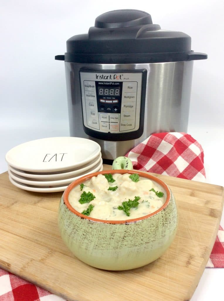 chicken gnocchi soup with instant pot