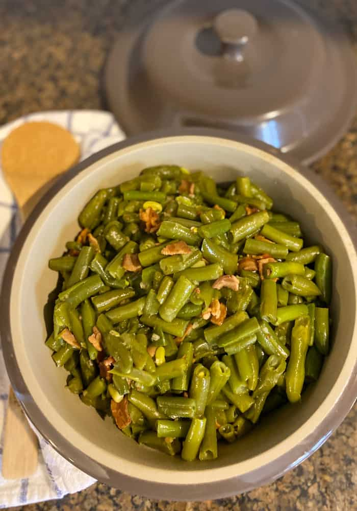 Instant Pot Green Beans with Bacon