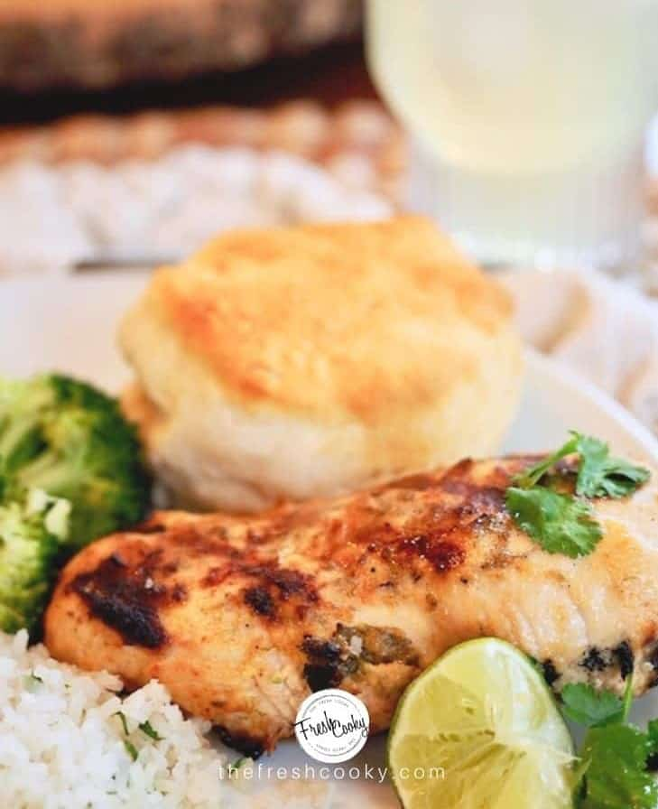 marinated freezer chicken meal