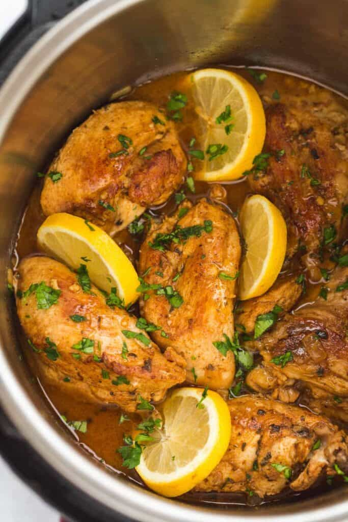 lemon garlic chicken freezer friendly meal