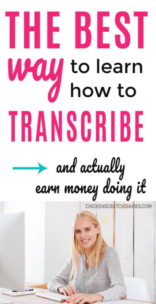 best transcription training advice