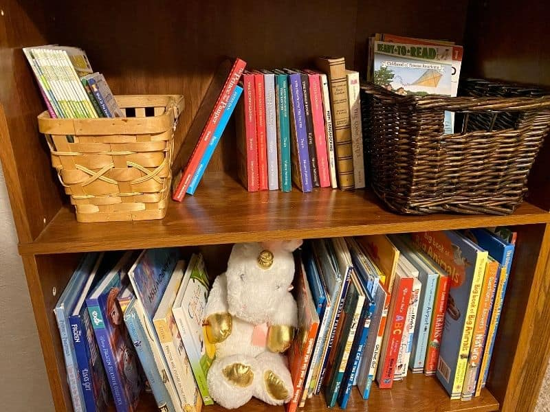 home library for homeschoolers