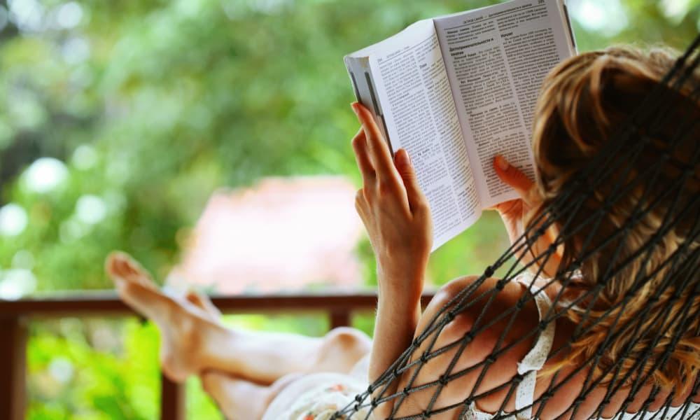 reading as a hobby idea for moms