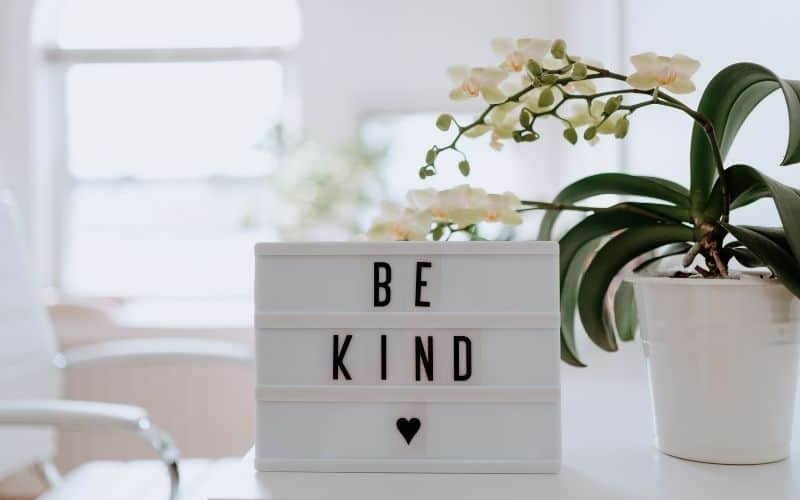 showing kindness and responsibility toward others