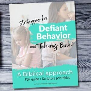 Printable guide-Talking Back