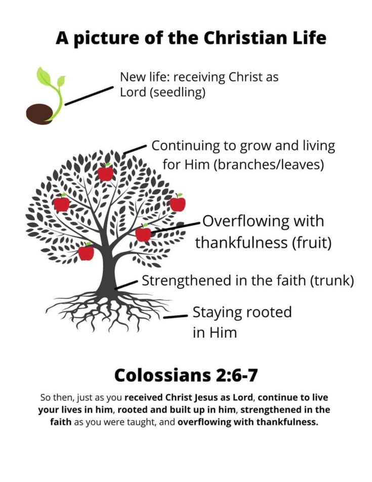 Picture of the Christian Life printable